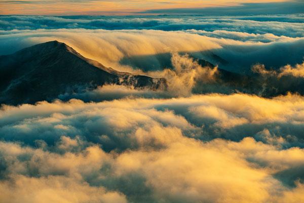 Tramonto tra le nuvole - 45x30-60x40-80x50-100x70