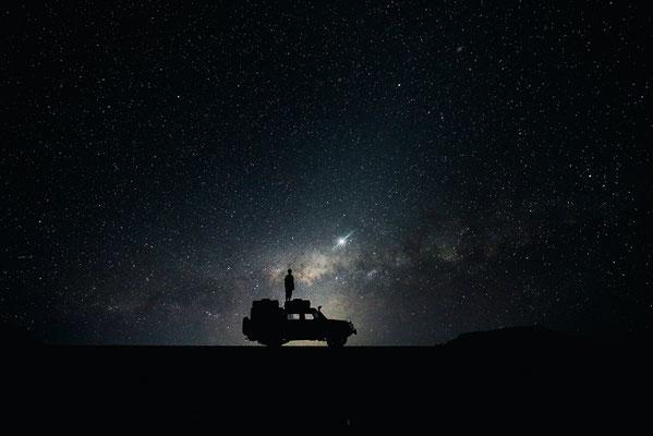 Cielo notturno1 - 45x30-60x40-80x50-100x70 e a richiesta con taglio panoramico 120x40-120x50