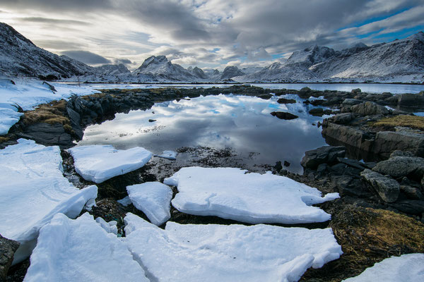 Montagna al disgelo - 45x30-60x40-80x50-100x70