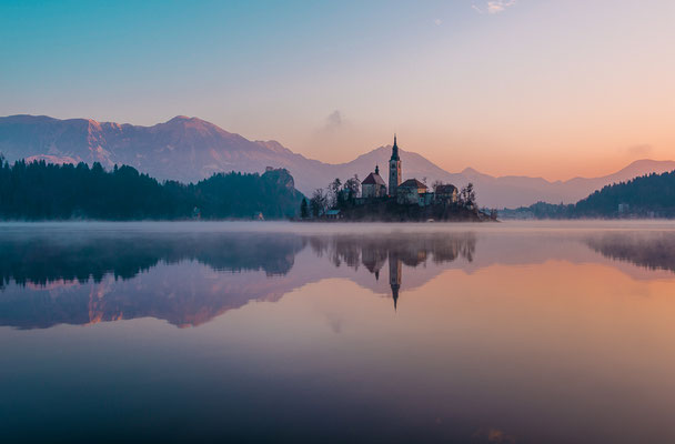 Lago di Bled - 45x30-60x40-80x50-100x70