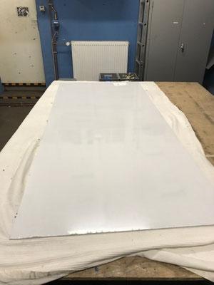 Bearbeiten der Polycarbonatplatte
