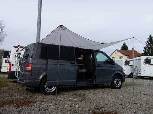 Kederschiene VW T4 T5 T6 Vorzelt Sonnensegel Markise befestigen Befestigung