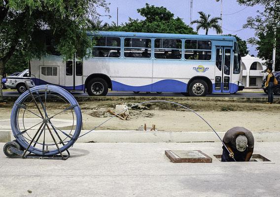 Hard Work in Cancun