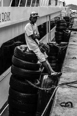 Port Worker In Railay