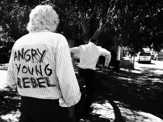 Angry Young Rebel in St. Kilda