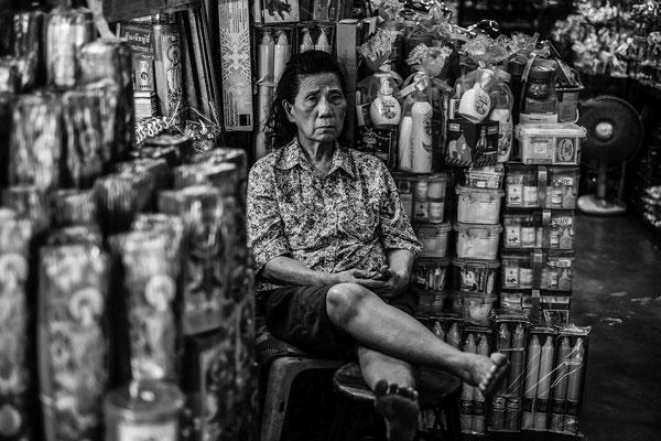 Incense seller Bangkok