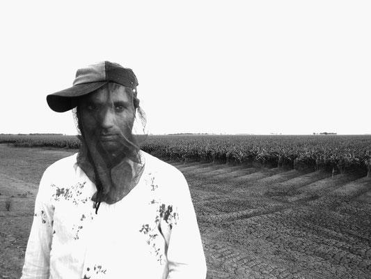 Indian farm worker