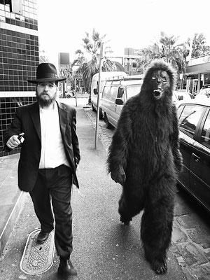 Jew and Gorilla in St. Kilda Melbourne