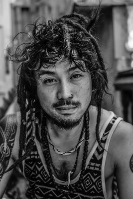 Eskimo in Bangkok Hostel