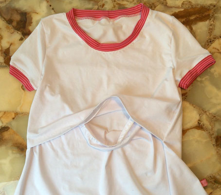 Freebook Schwangerschafts- und Stillshirt