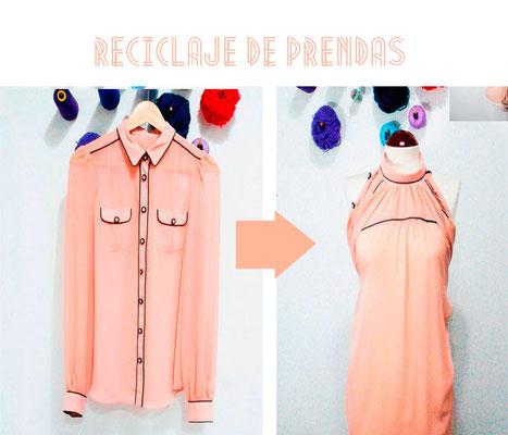 blusa reciclada
