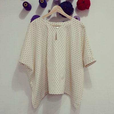 blusa túnica
