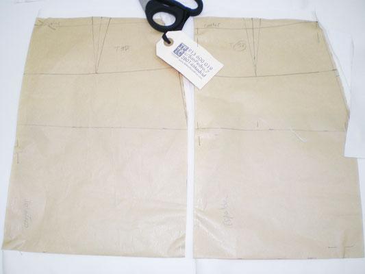 patrón base falda