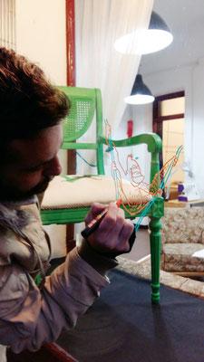 Ilustraciones en nuestro escaparate por Germán Gullón
