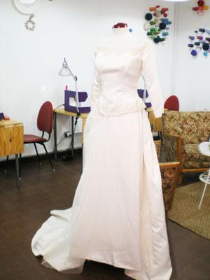 Vestido novia para transformar