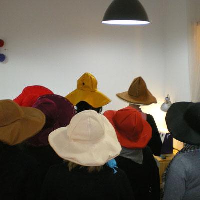 """taller de sombreros """"floppy hat"""""""