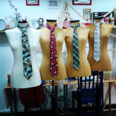 corbatas unisex
