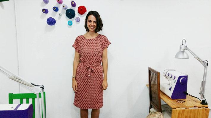 Vestido sencillo por Vanesa
