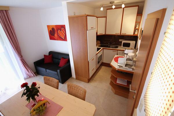Wohnbeispiel - Wohnküche