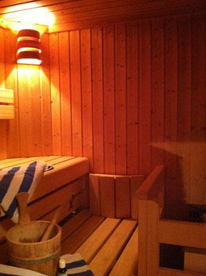 Wohnbeispiel - Sauna