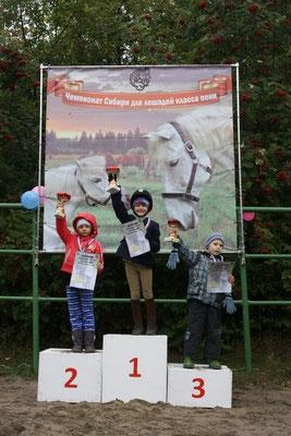 Победитель Железнова Елизавета (6 лет)