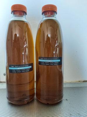 nr 33 : Lijnzaad olie, fles van 1 liter