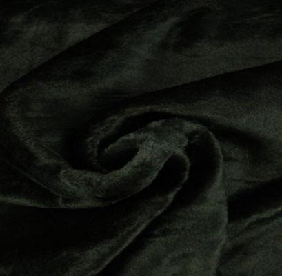 D2 - Faux Fur / Shiny Black