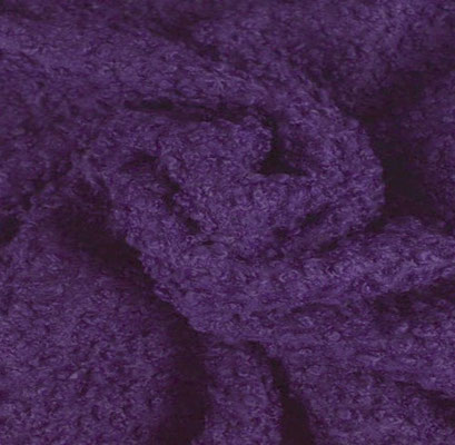 D4 - Curly Fur / Paars