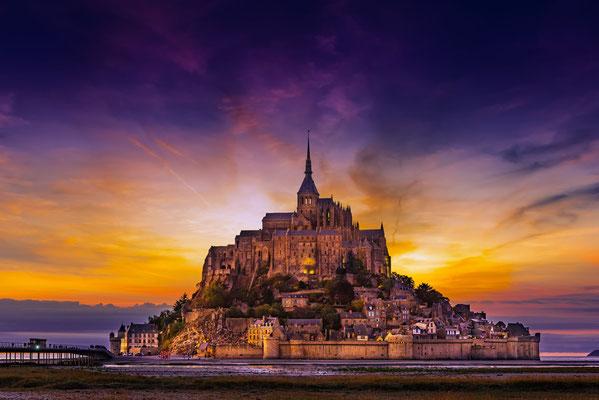 Frankreich - Mont St. Michel