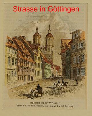 DG 189 - Göttingen, engl. kol. Hst. um 1870-8,8x7(10x10) = 18 EUR