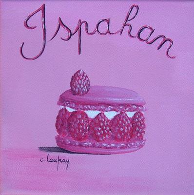 """Ispahan"" - acrylique - 20 x 20 cm"