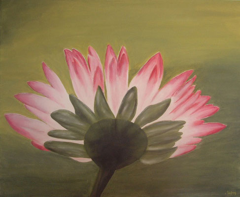"""""""Marguerite"""" - acrylique - 50 x 61 cm"""