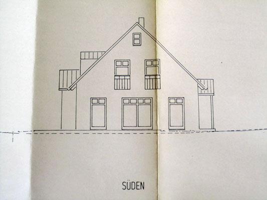 Archiktektur-Visualisierung Neubau Plan Süden