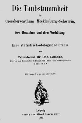 Abbildung 3 aus Buch 100 Jahre HNO-Klinik Rostock, Verlag Matthias Oehmke
