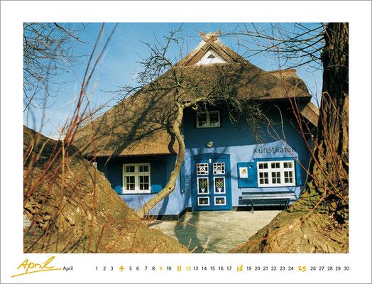 Kalenderblatt Ostseeküste 2004, Verlag Matthias Oehmke
