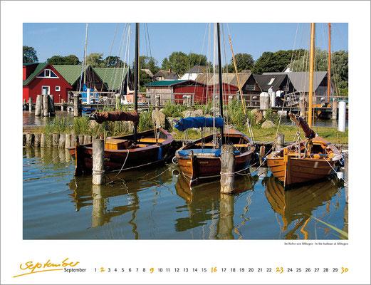 Kalenderblatt Ostseeküste 2007, Verlag Matthias Oehmke