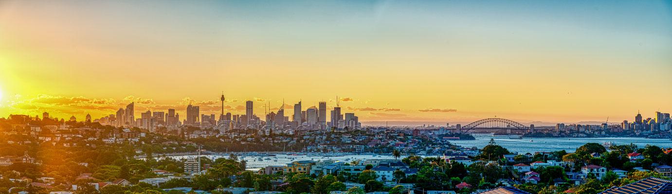 Sydney Skyline Panorama 19 08