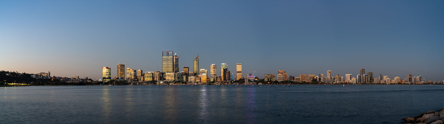 Perth Skyline Panorama 19 03