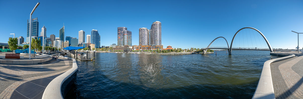 Perth Skyline Panorama 19 08