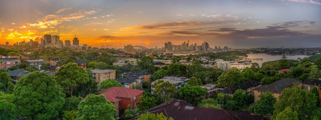 Sydney Skyline Panorama 19 02