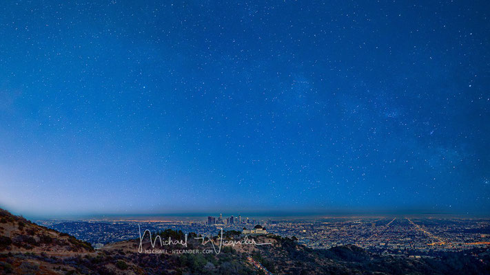LA with Griffith Observatory 08