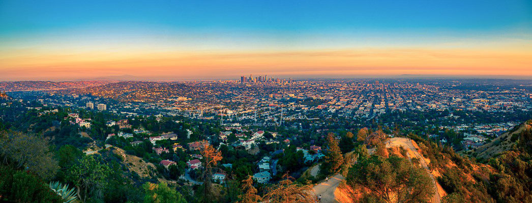 LA from Griffith Observatory 01