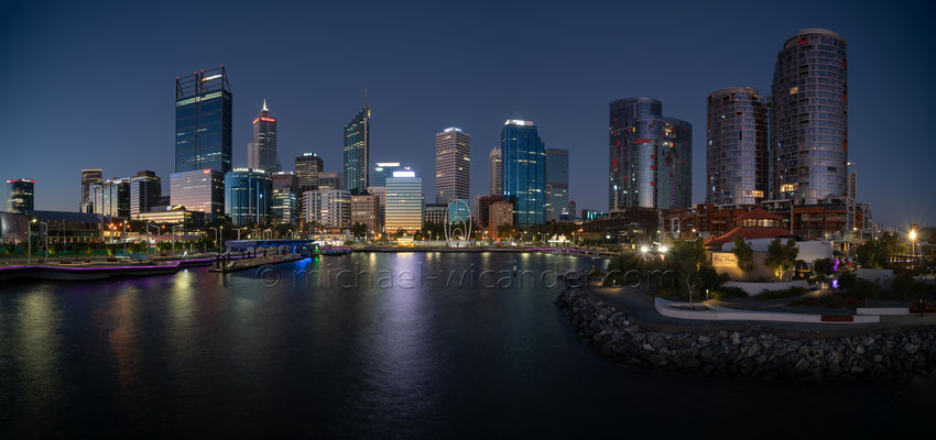 Perth Skyline Panorama 19 01