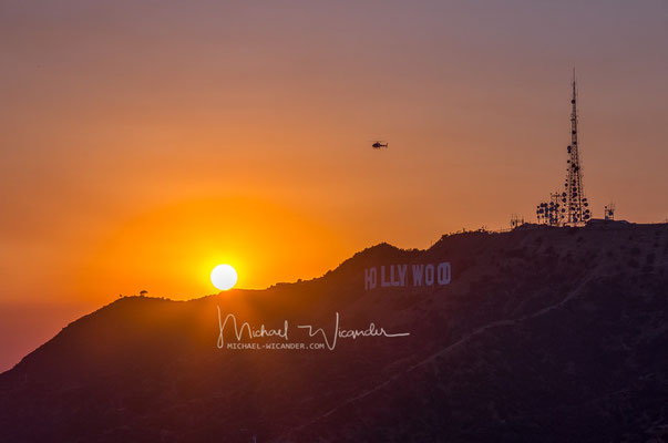 Hollywood Hills Sunset 02