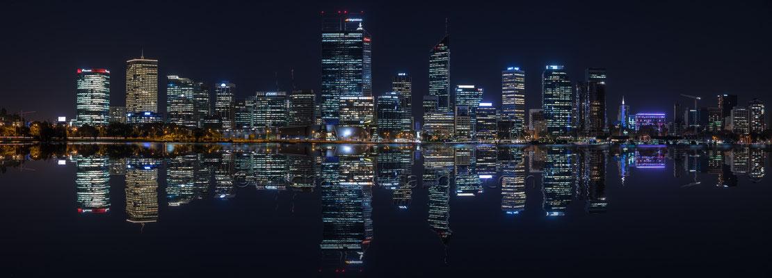 Perth Skyline Panorama 19 07