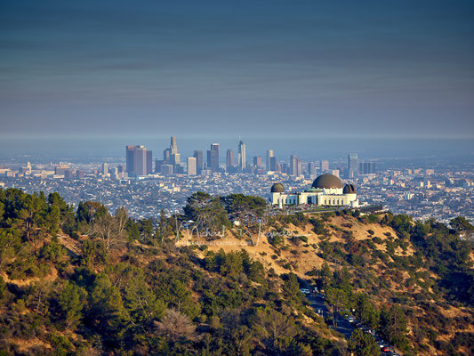 LA with Griffith Observatory 02