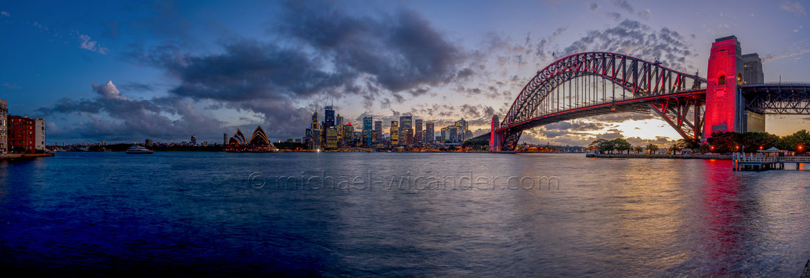Sydney Skyline Panorama 19 03