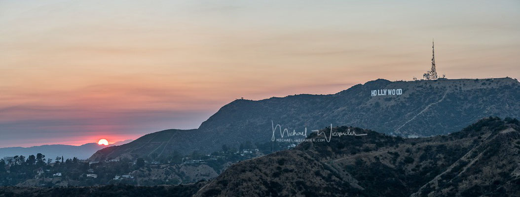 Hollywood Hills Sunset 03