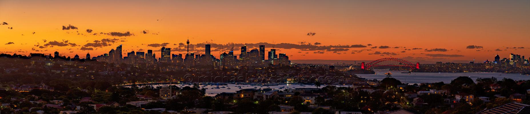 Sydney Skyline Panorama 19 13