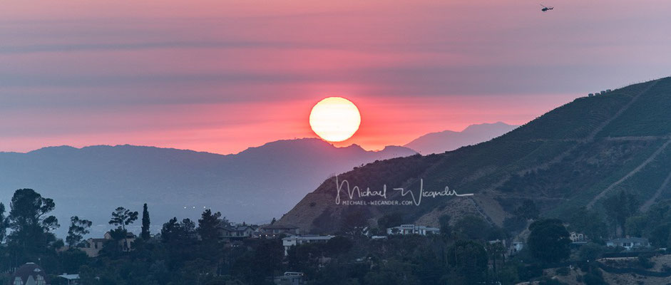 Hollywood Hills Sunset 01